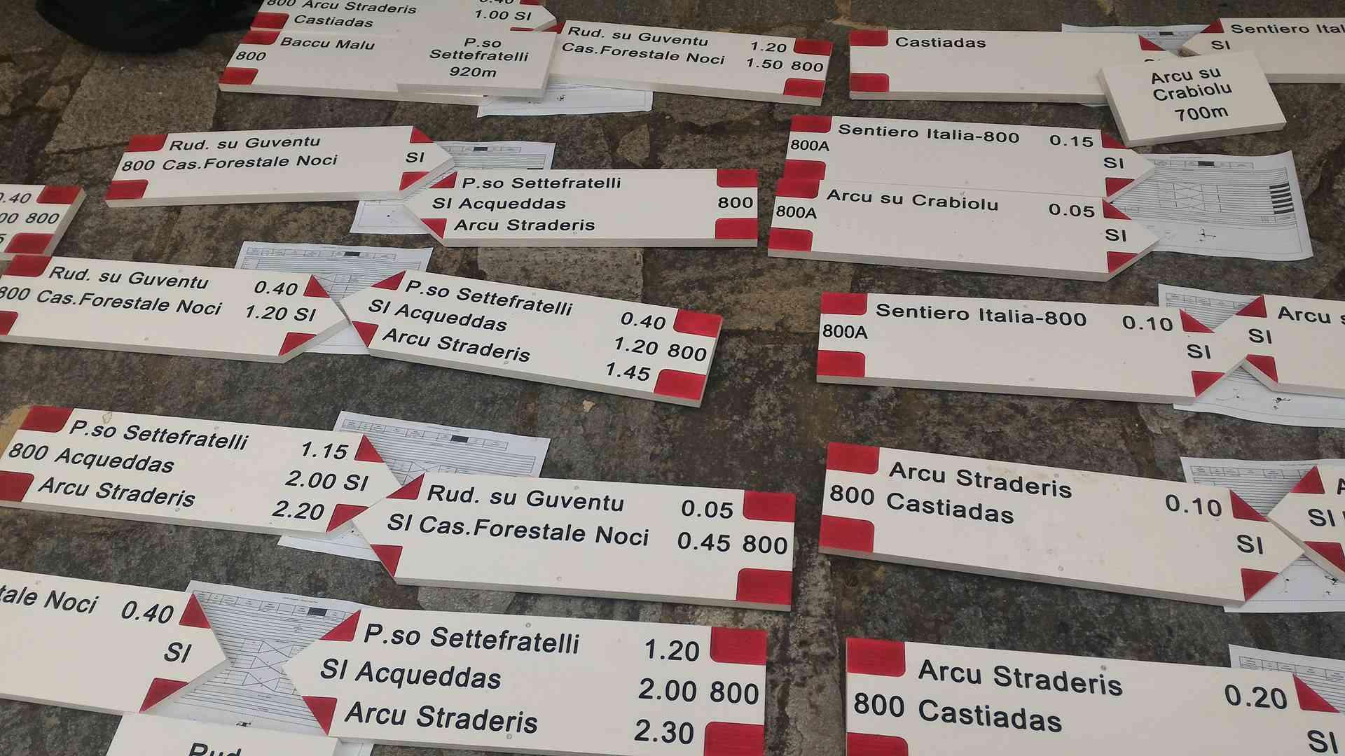 Sardegna: le tappe del percorso