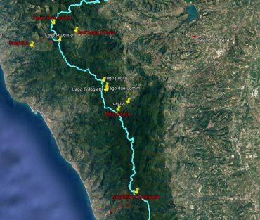 Staffetta in Calabria: trekking tra i due mari, tra boschi, laghi e siti archeologici
