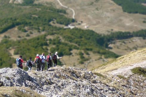 La staffetta Cammina Italia Cai in Abruzzo nelle terre dei Sanniti