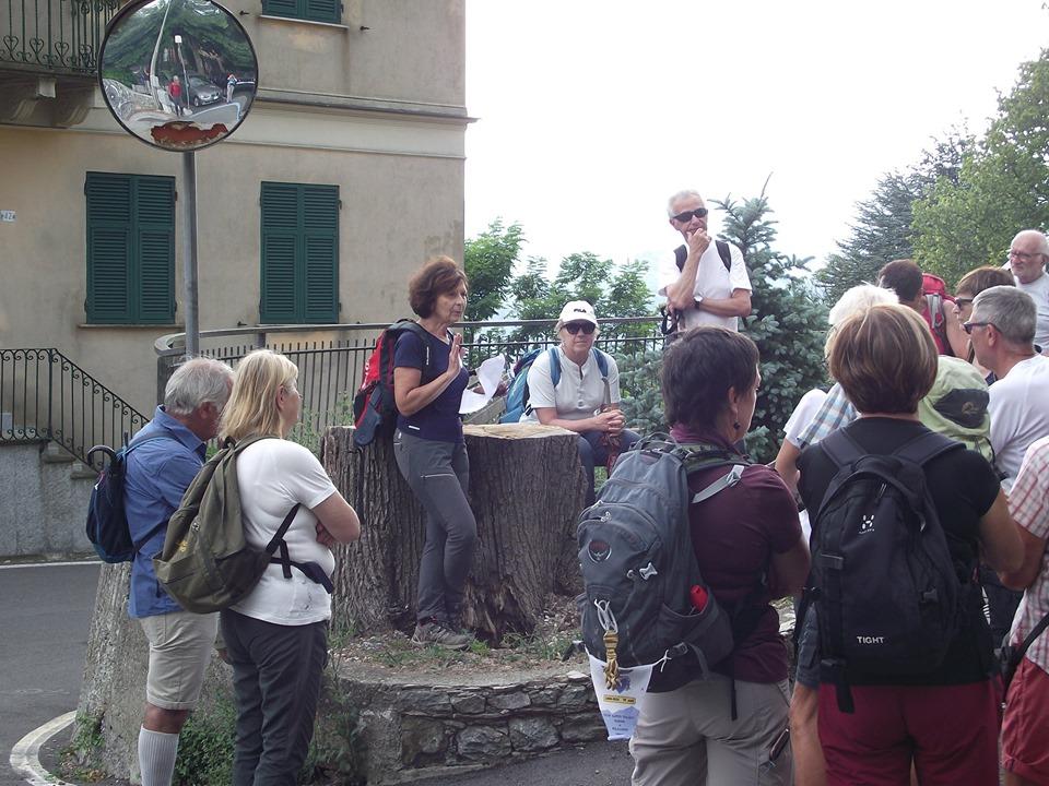Cai Bolzaneto, escursione serale per il Sentiero Italia