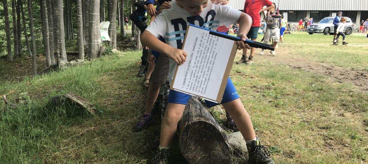 A Prato Spilla festa con la paranza dei bambini di Sentiero Italia CAI