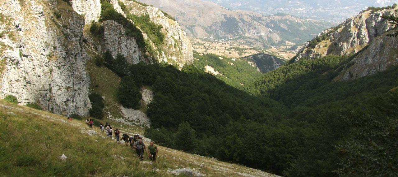 A Piedimonte Matese il Sentiero Italia Cai è il frutto di un grande amore