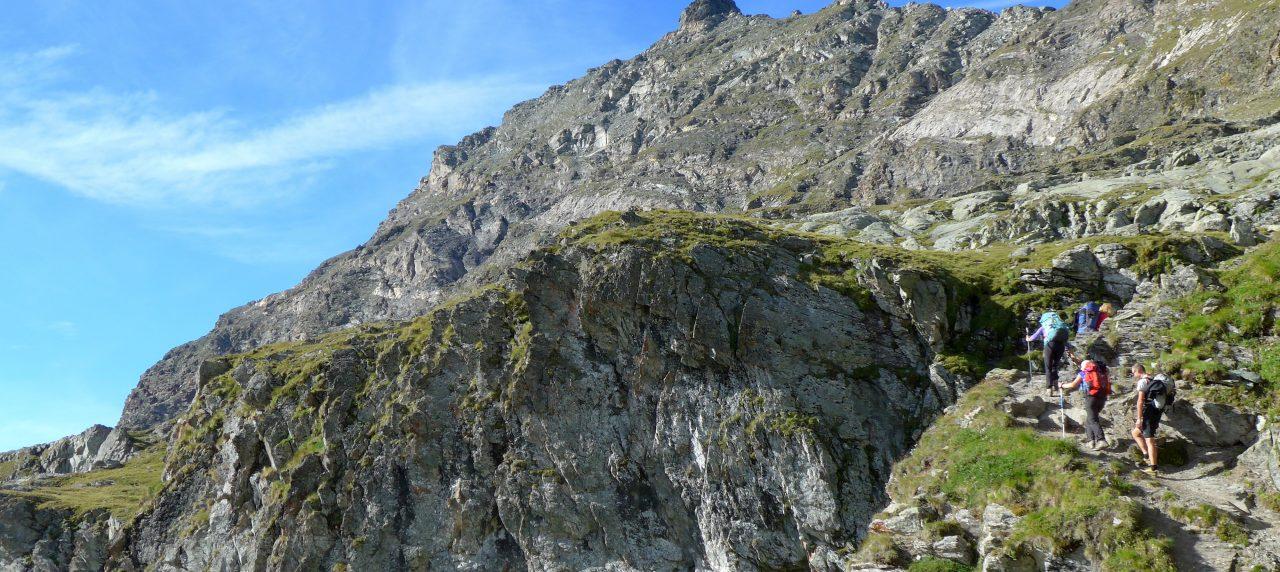 In Valle d'Aosta, dove il Sentiero Italia Cai s'inchina al Cervino e al Monte Rosa