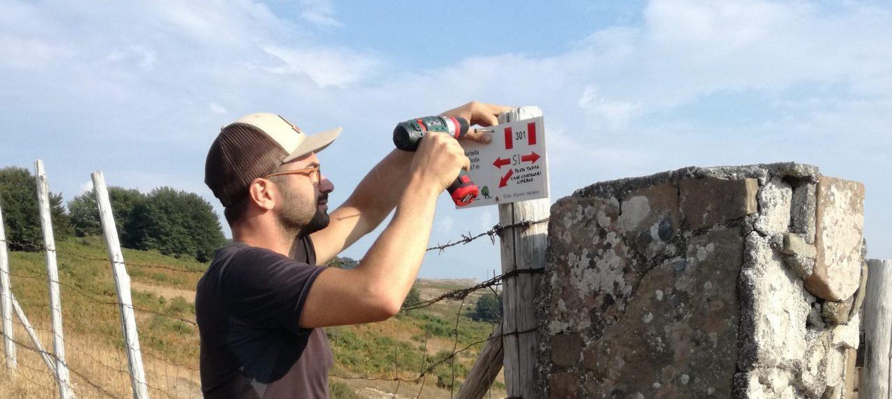 Dopo le Staffette: il Cai Belpasso sui Nebrodi completa la segnaletica di due tappe