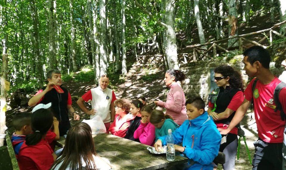 I giovani alpinisti di Forlì sul Sentiero Italia CAI