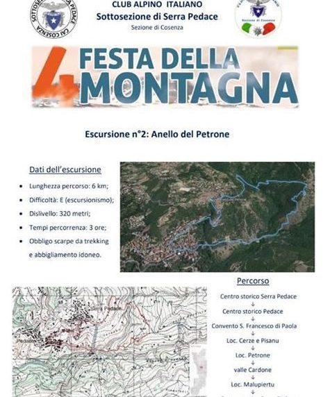 In Calabria si festeggia la montagna sul Sentiero Italia Cai