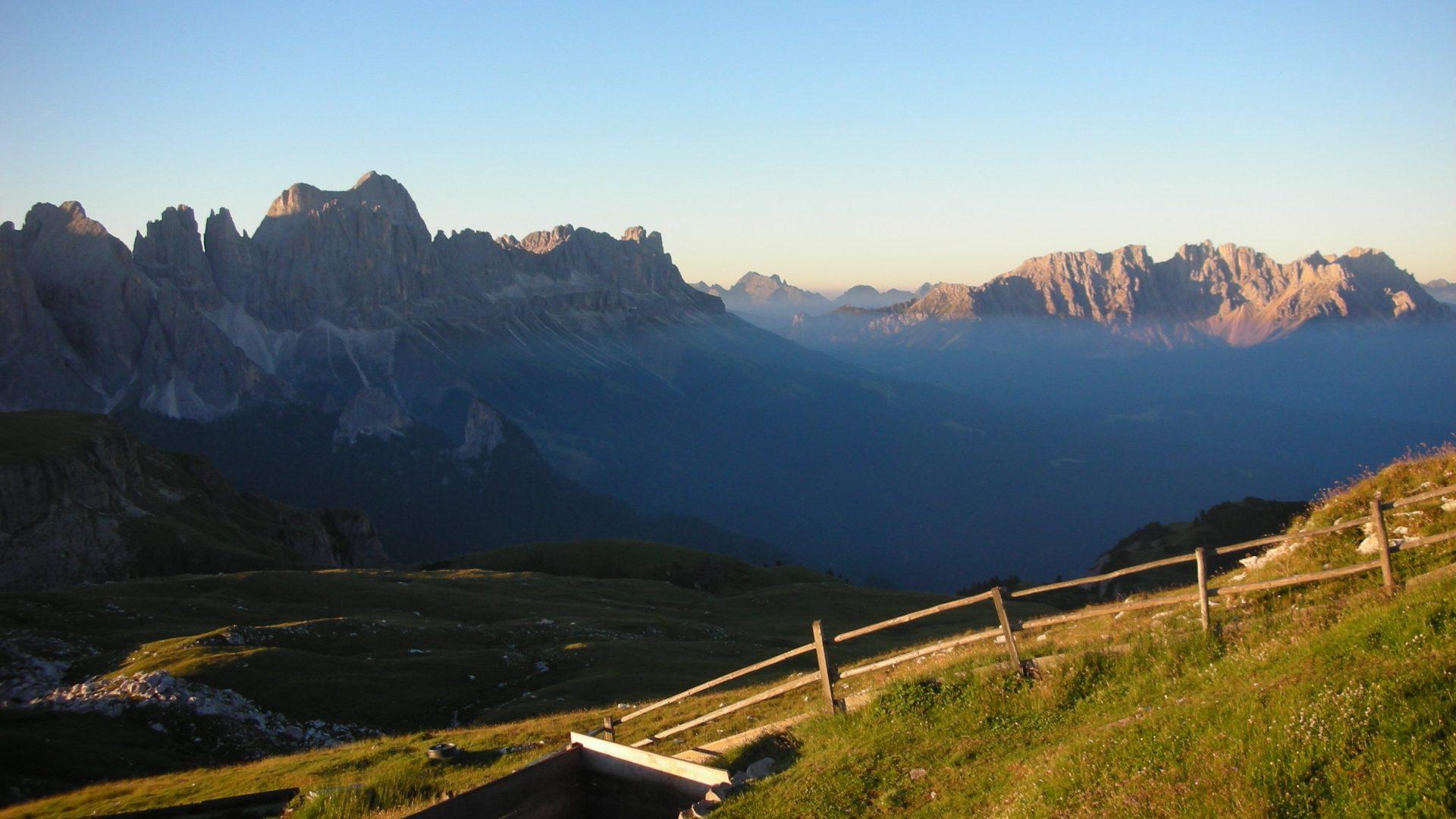 La neve ferma in Alto Adige Cammina Italia CAI 2019