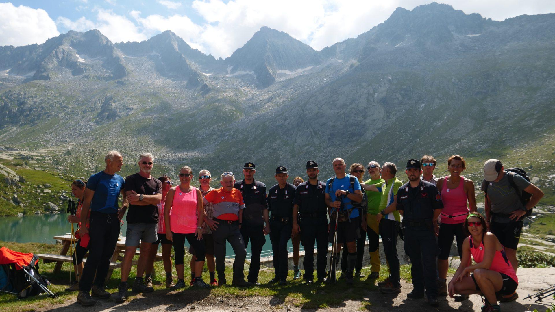 In Lombardia CAI e Carabinieri Forestali insieme sul Sentiero Italia