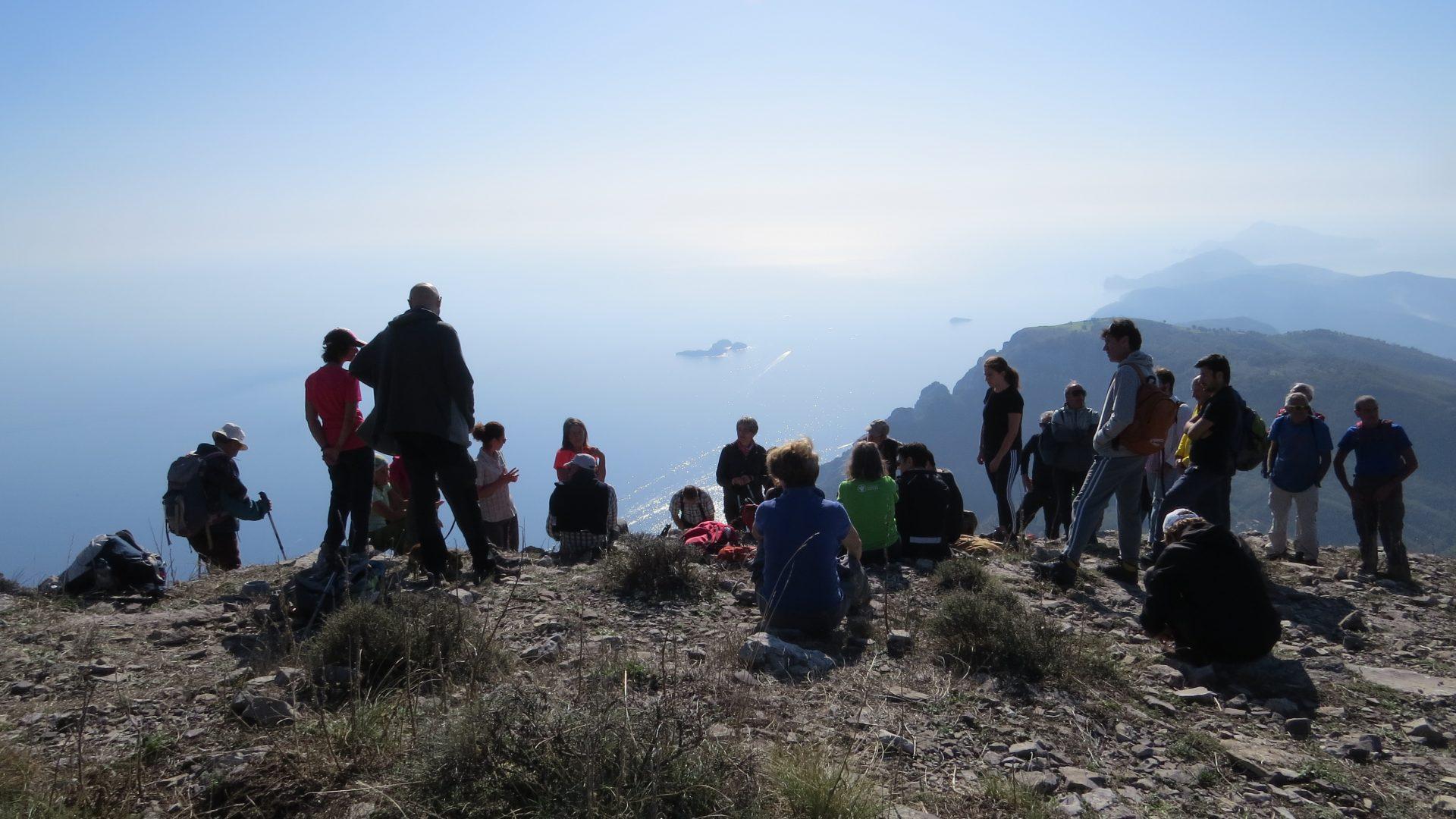 In Campania sul Sentiero Italia CAI per ammirare il mare