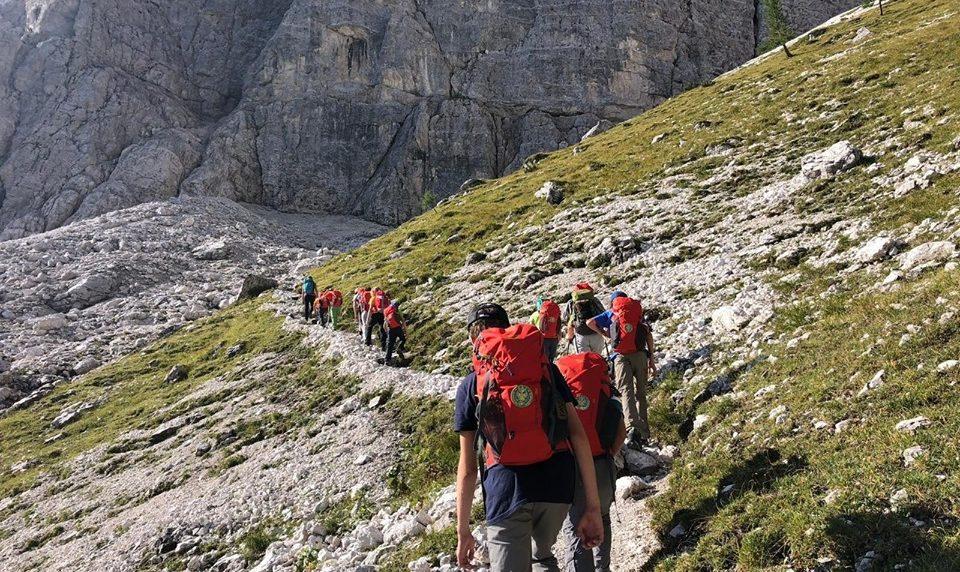 Sul Sentiero Italia Cai in Friuli alla ricerca dei camosci