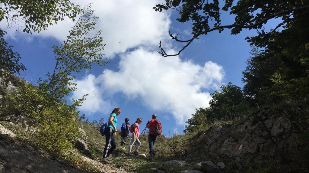 Sul Sentiero Italia CAI in Campania con i pastori in transumanza