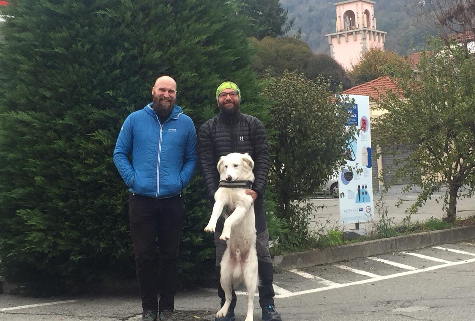 Renato e Johannes: incontro sul Sentiero Italia CAI