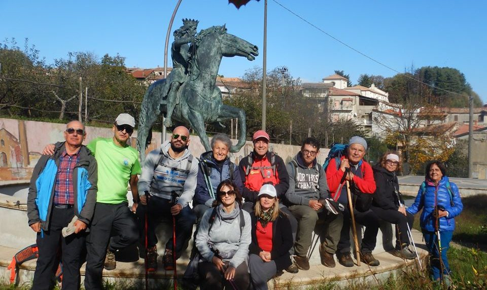 Il Cai Catanzaro in viaggio nella storia della Calabria