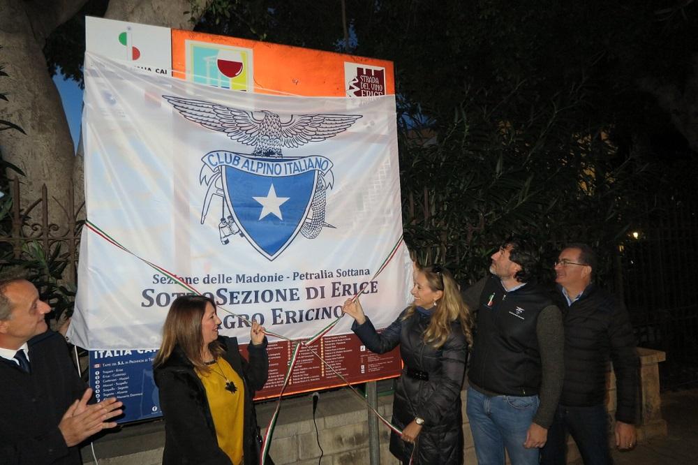"""A Erice la terza targa di """"Punto di Accoglienza"""" del Sentiero Italia CAI"""