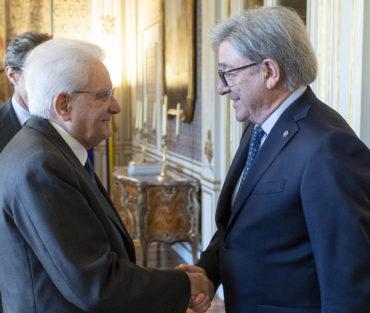 Al Quirinale il Presidente Sergio Mattarella ha incontrato una delegazione del Club alpino italiano