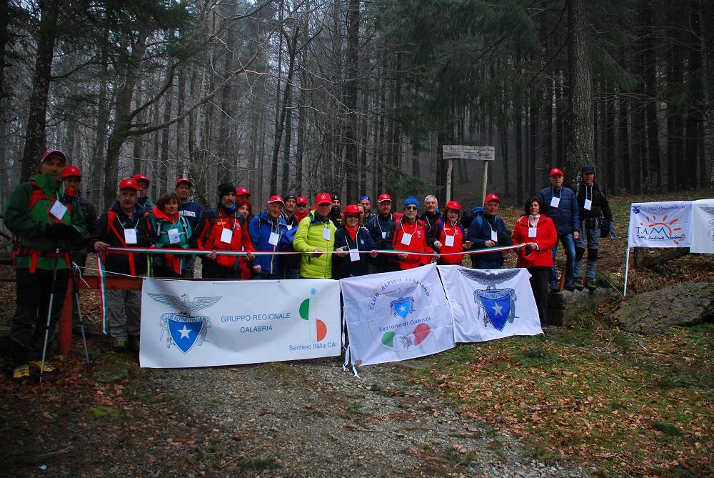 Escursioni tra le righe, l'unione ha fatto la forza sul Sentiero Italia calabrese