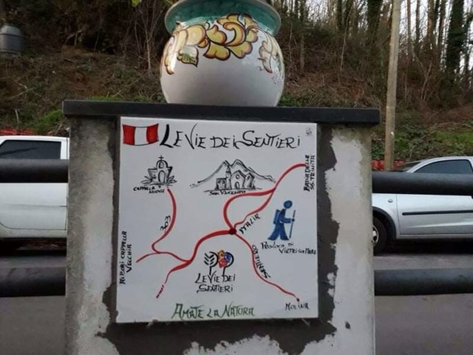 Sentiero Italia CAI, Costiera amalfitana