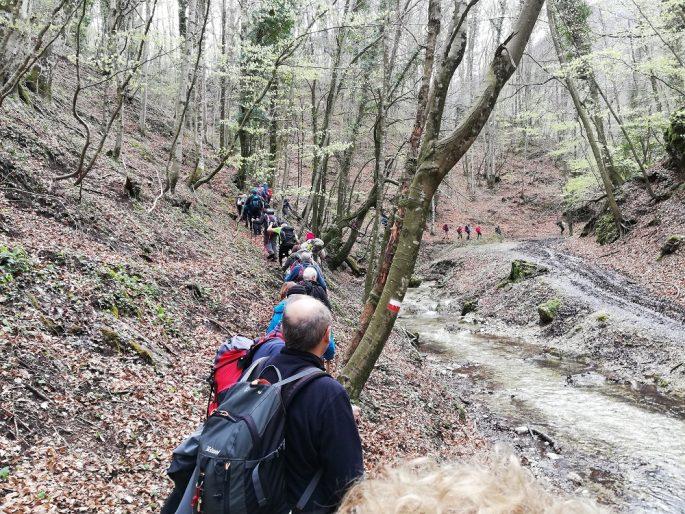Sentieri in Campania, Sentiero Italia CAI, Cammina Italia CAI 2019