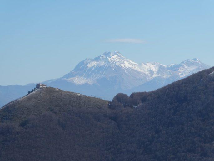 Leonessa è il punto di arrivo e partenza di due tappe del SI CAI nell'alto Lazio