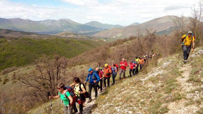 Sentiero Italia CAI, Cammina Italia CAI 2019, terremoto di Amatrice