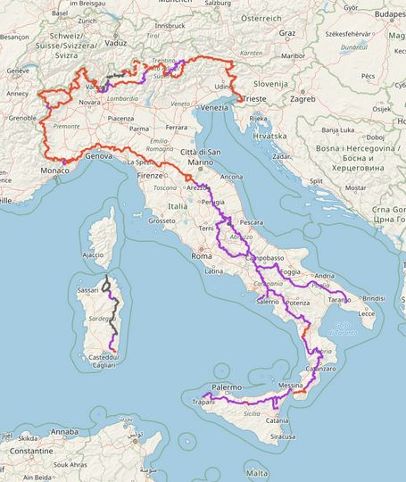 Segnalazioni sul Sentiero Italia CAI, aperta una nuova casella di posta