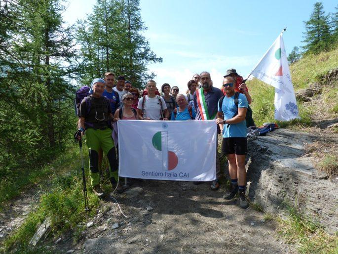 Cammina Italia CAI 2019, Sentiero Italia CAI, sentieri piemontesi