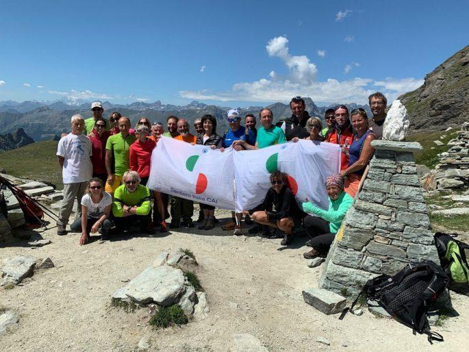 Sentiero italia CAI, Cammina Italia CAI 2019, sentieri della Valle D'Aosta