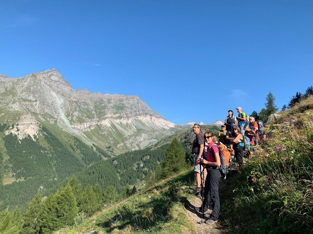 Escursioni tra le righe, la staffetta sui sentieri della Valle D'Aosta