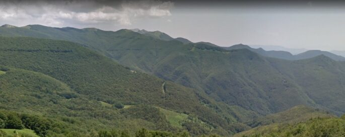 Paesaggio intorno San Pellegrino d'Alpe
