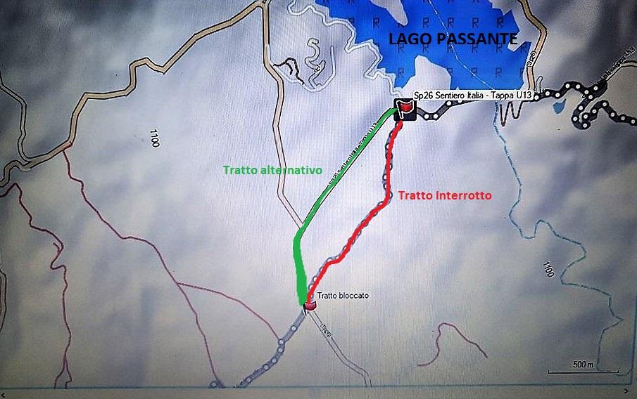 CALABRIA - Interruzione di percorso / Tappa 15 Madonna di Porto - Villaggio Mancuso