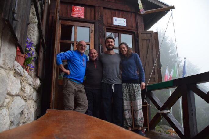Sentiero Italia Cai, punto accoglienza rifugio Oltradige