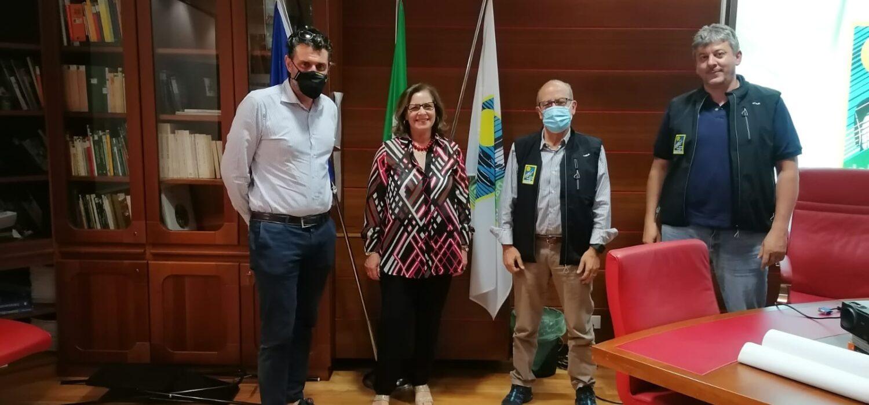 Sentiero Italia Cai in Calabria, il vicepresidente Antonio Montani ha visitato i parchi nazionali