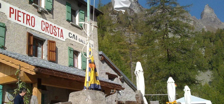 Punti accoglienza: l'estate del rifugio Pietro Crosta