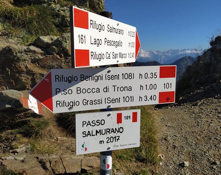 Guide sul Sentiero Italia Cai: i rifugi delle alpi Orobie