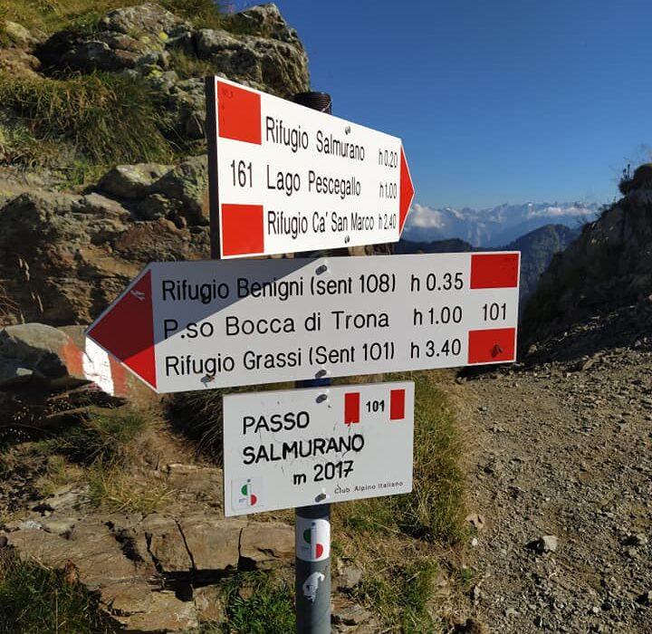 Autori sul Sentiero Italia Cai: i rifugi delle alpi Orobie