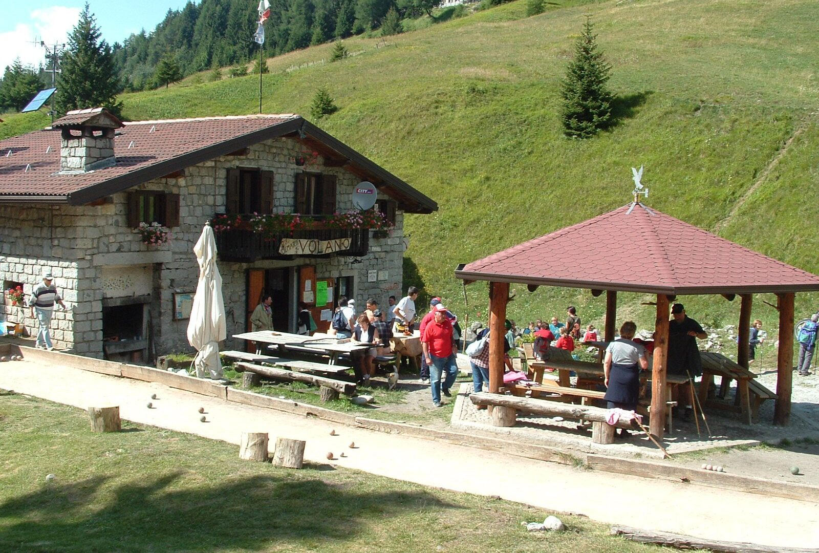Autori sul Sentiero Italia Cai, i rifugi della Valcamonica
