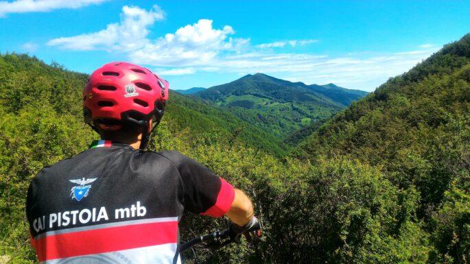 Sentiero Italia CAI in mountain bike: il ttatto tra Casina Spedaletto e Pracchia