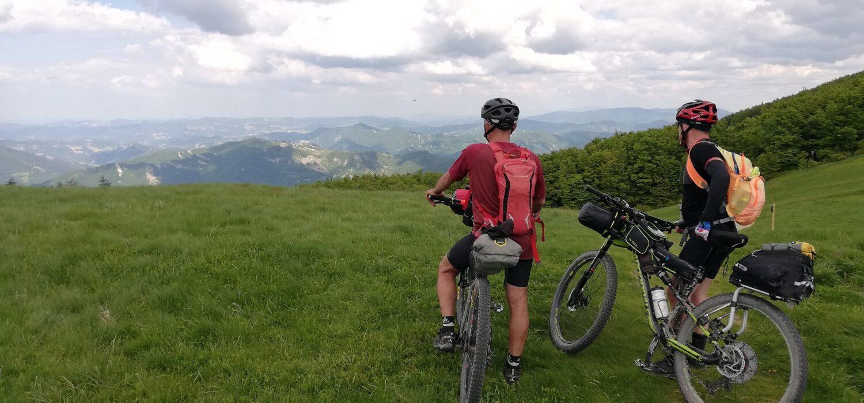 In MTB sul Sentiero Italia CAI: da Bocca Trabaria a Lago Scaffaiolo